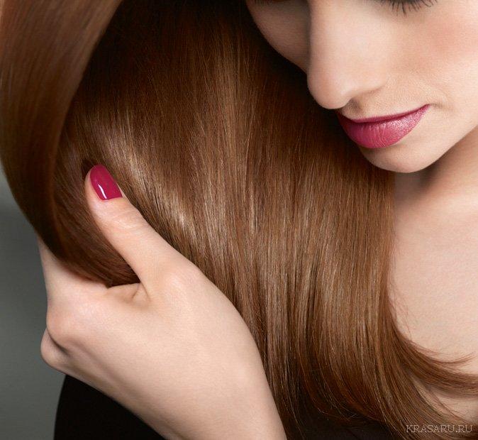 Как сделать волосы толще гуще и прямее