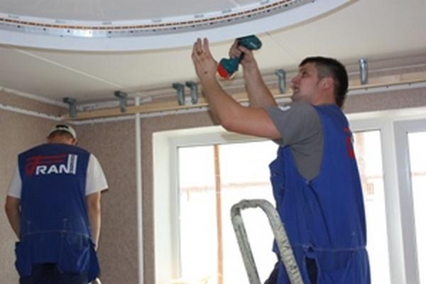 Установить натяжной потолок своими руками